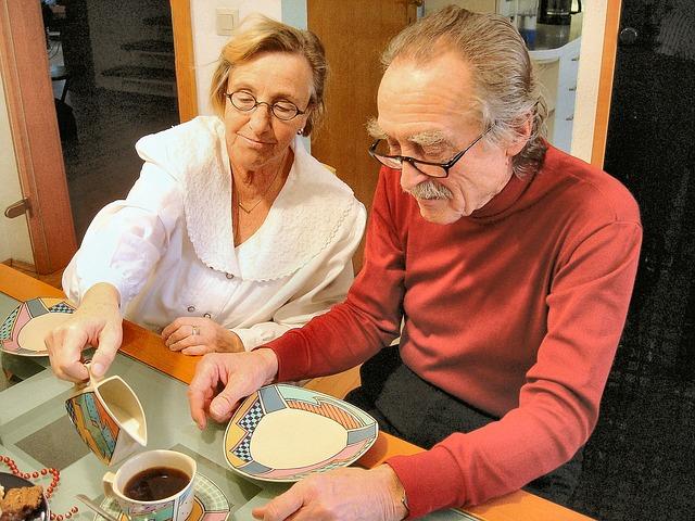 seniorský pár