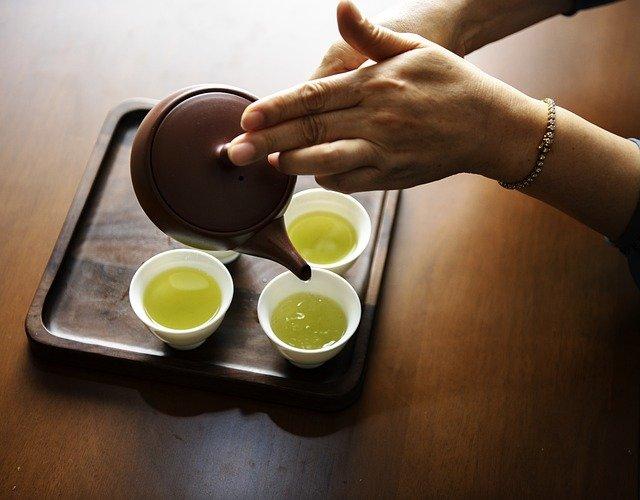 asijský čaj