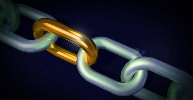 zlatý článek řetězu