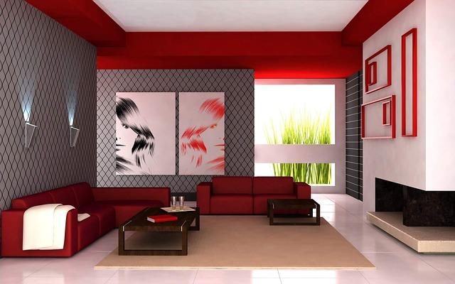 interiér v barvách